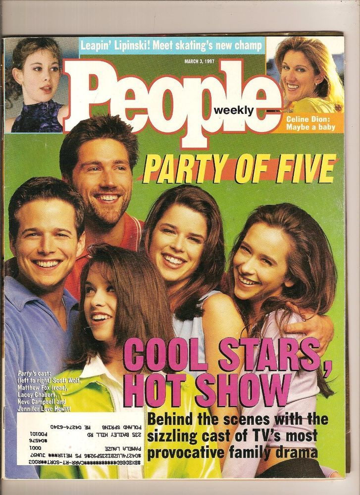 Party of Five TV show - People Magazine 1997 | Ebay items I