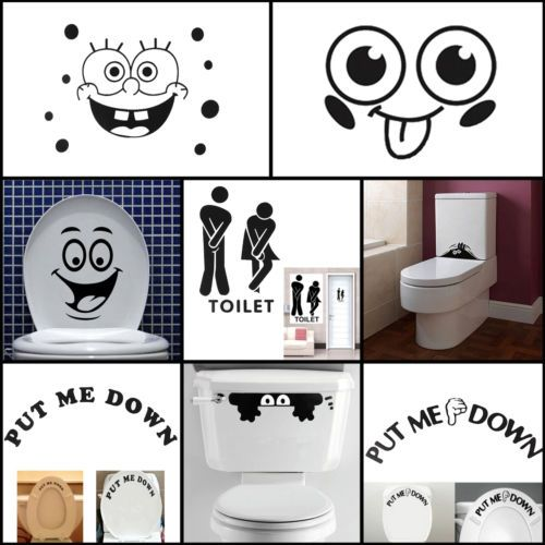 17 meilleures id es propos de stickers wc sur pinterest stickers toilettes deco wc et toilette. Black Bedroom Furniture Sets. Home Design Ideas