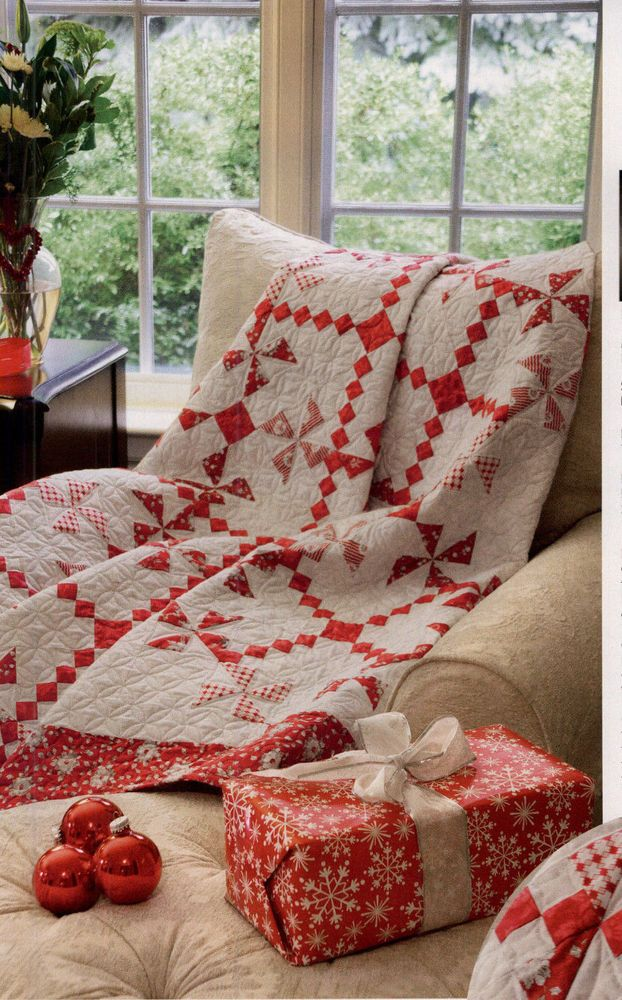 Red and White Quilt #Quilting #Pattern www.marycoveydesigns.com