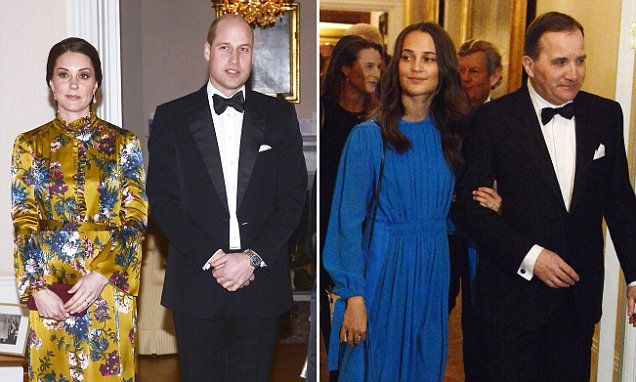 Kate outshines Oscar winner Alicia Vikander