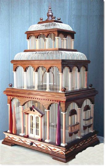 Venice bird cage woodworking plan