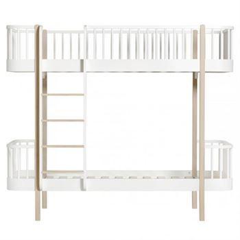 oliver furniture etagenbett wood eiche jetzt bestellen unter - Coolste Etagenbetten