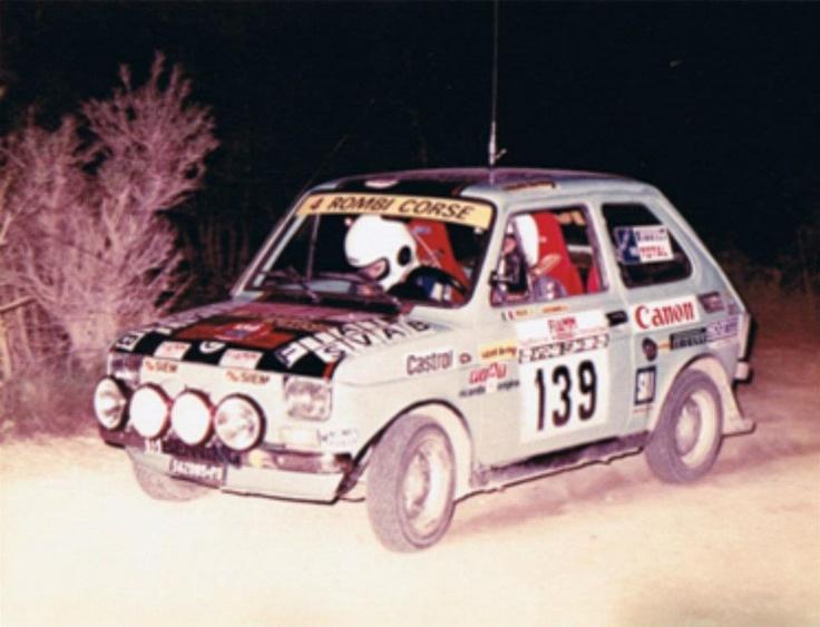 Polato Gottardi Fiat126 gr 2 Rally Elba