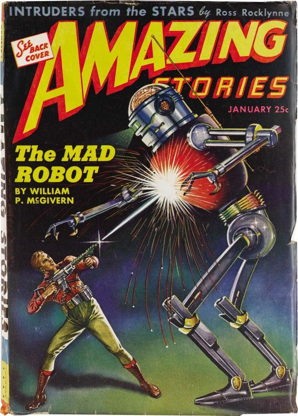 Amazing Stories The Mad Robot
