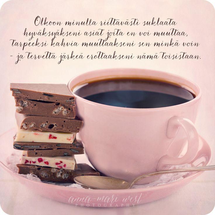 Postikortit - Postikortti Suklaata ja kahvia - Hyvän Tuulen Puoti