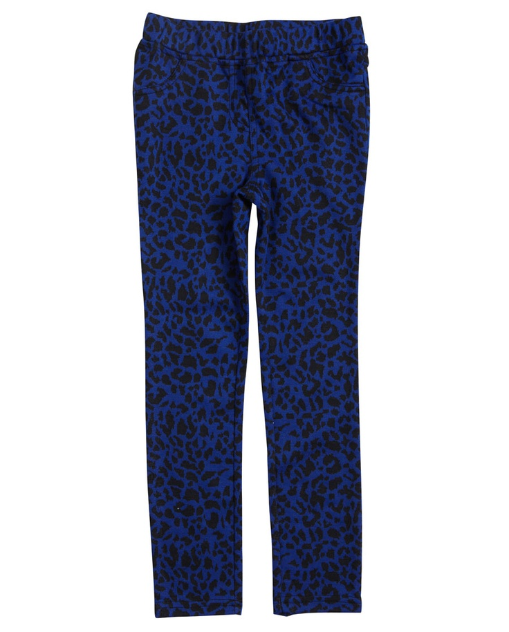 Little Girl`s Knit Leopard Pant - Bardot Junior