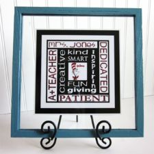 Personalized Teacher Subway Art Prints (Dr. Seuss or other image in center square) @Crystal Tucker