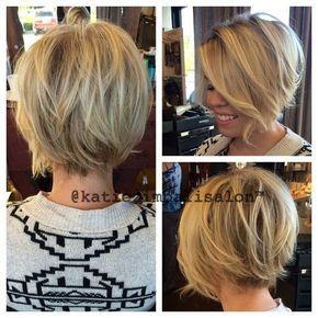 Haircut curto fácil de Bob - penteados diários para o cabelo curto das mulheres