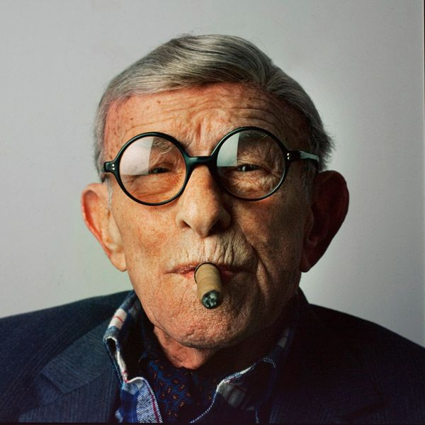 """""""I must be getting absent-minded. Whenever I complain that things aren't what they used to be, I always forget to include myself.""""  - George Burns"""