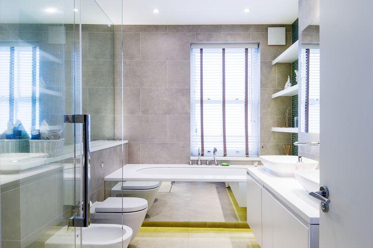 Master Bathroom designed by ESK Architects