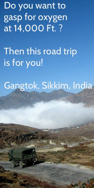 An adrenalin rushing and oxygen gasping road trip from Gangtok to the Nathula Pass, tracing part of the ancient Silk Route