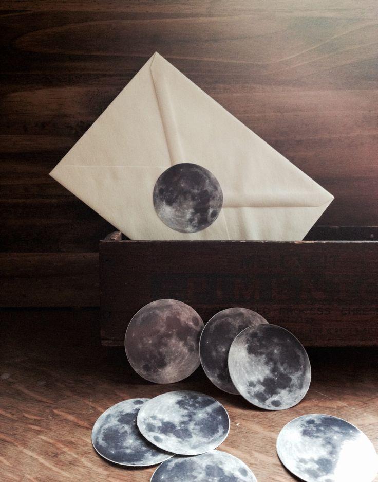 Full Moon Sticker Set - Set of 6 Vinyl 2 Inch Stickers - Lunar Stationary - Bumper Stickers by MilkThistleIsland on Etsy https://www.etsy.com/listing/178996153/full-moon-sticker-set-set-of-6-vinyl-2