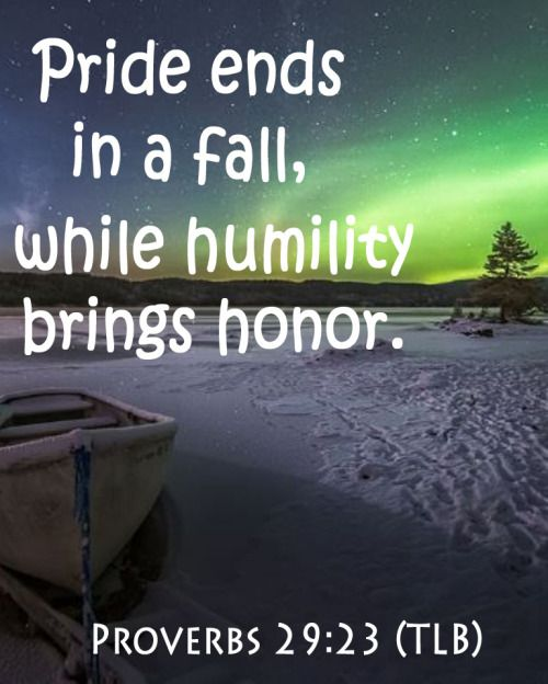 pride hath a fall 19 the lord by wisdom hath founded the earth  unless they cause some to fall  pride, and arrogancy,.