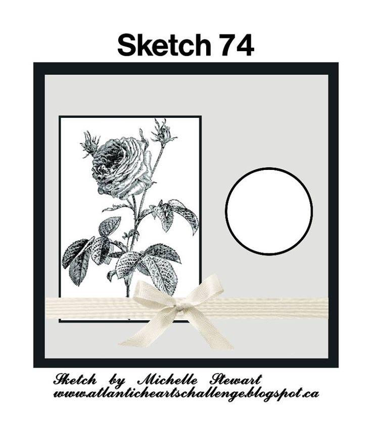 Atlantic Hearts Sketch Challenge : Sketch #74