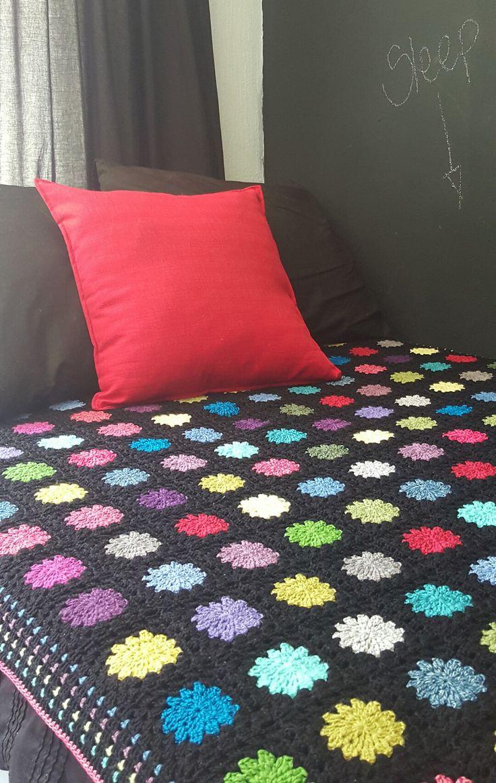 Graffiti Blanket By Brenda Grobler - Free Crochet Pattern - (ravelry)