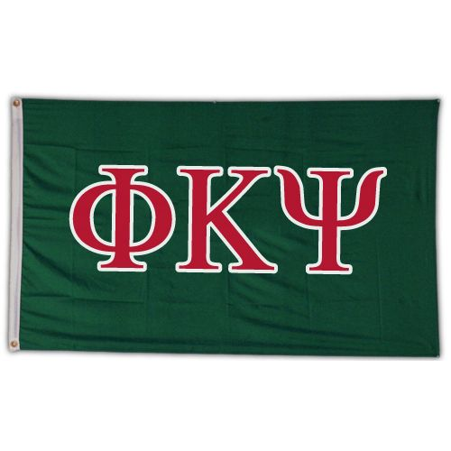 Campus Classics - Phi Psi Greek Letter Banner: $22.95