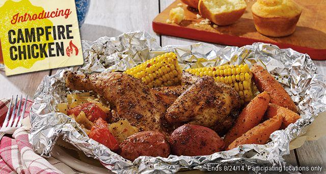 Cracker Barrel Copycat Recipes: Campfire Chicken or Beef