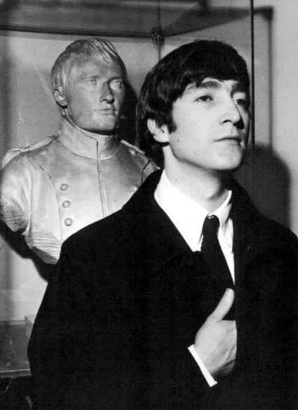John doing Napoleon
