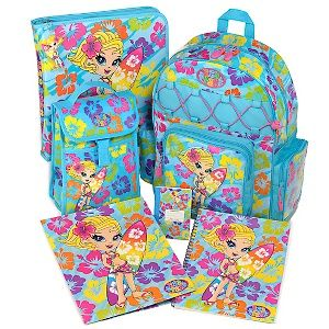 Lisa Frank backpack set--now avaliable at Toys R Us!