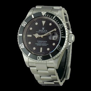 ROLEX - Submariner Date , cresus montres de luxe d'occasion, http://www.cresus.fr/montres/montre-occasion-rolex-submariner_date,r2,p26178.html