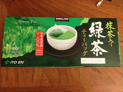 Kirkland Green Matcha/Sencha Tea