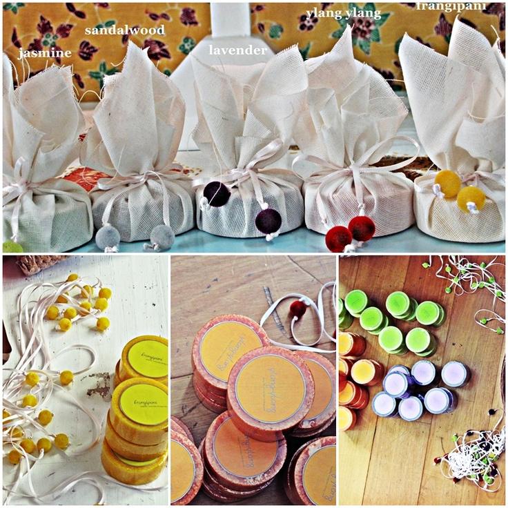 wedding souvenir - WRAPPED SOAP