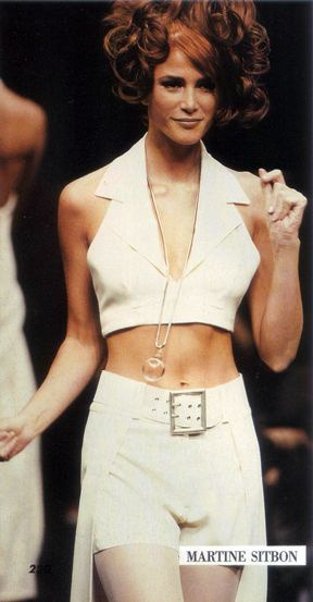 Angie Everhart Martine Sitbon S/S 1992