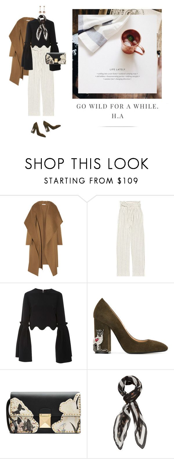 """""""kaaasi"""" by yenybarriot on Polyvore featuring Barbara Casasola, By Malene Birger, Christian Siriano, N°21, Valentino, The Kooples and J.W. Anderson"""