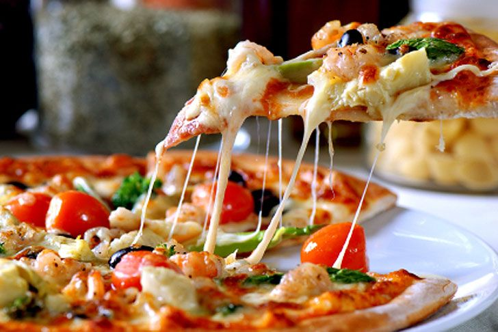 Pizza ! Pizza ! Pizza !.......Yummy ! at low cost.