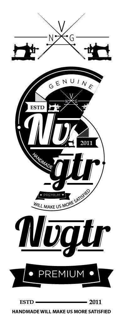 nvgtr logo by luigi oriza, via Behance