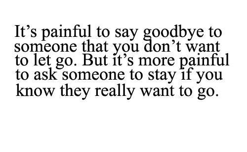 I really hate it... But I want you to be happy... I just wish you would've been happy with me...