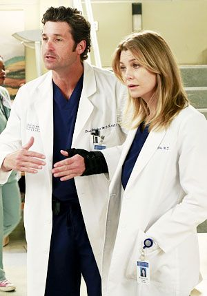 Meredith Grey - Derek Shepherd - Grey's Anatomy - Ellen ...
