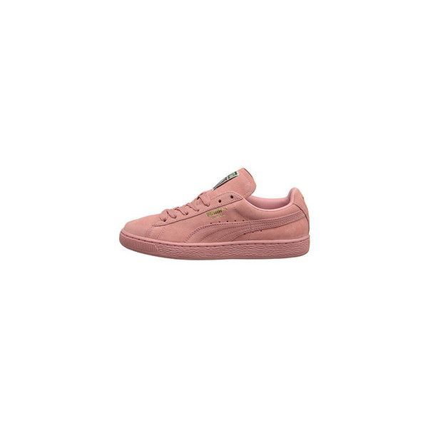 puma suede classic wn 39 s 65 liked on polyvore featuring shoes schuhe sneakers pastel shoes. Black Bedroom Furniture Sets. Home Design Ideas