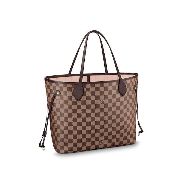 f3ca2e488d56 Women - Neverfull MM Damier Ebene Canvas Women Handbags