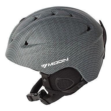 MOON® Casque Femme / Homme / Unisexe Snow Sport Helmet Demi-coquille Sport Helmet Gris Snow Helmet ABSSports de neige / Sports d'hiver / de 1051685 2016 à €29.39