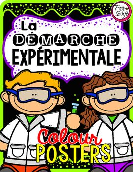 FRENCH Science Posters - La démarche expérimentale.These posters are perfect for…