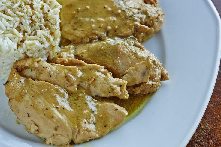 Κοτόπουλο με σως μέλι-μουστάρδα | Chicken with honey & mustard sauce