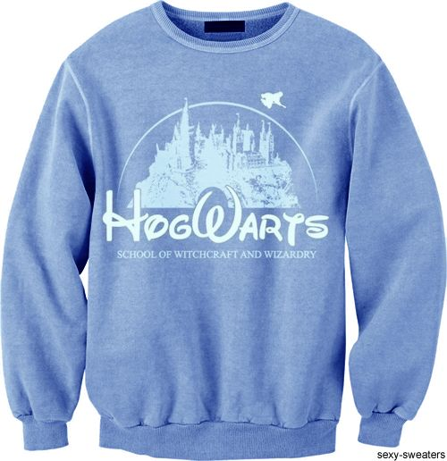 Disney / Hogwarts Sweatshirt: Sweaters, Fashion, Disney Style, Disney Castles, Disney Hogwarts, Harry Potter, Hogwarts Sweatshirts, Closet, Disney Clothing Sweatshirts