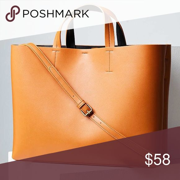 Urban Outfitters S&N Brown Jule Oversized Tote Bag Urban Outfitters Silence + Noise Women's Brown Jule Oversized Tote Bag One Size. Keep your style sharp with this sleek vegan leather tote bag from progressively innovative brand. Urban Outfitters Bags Totes