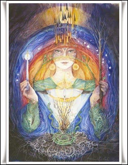 Las Revelaciones del Tarot: Brid, Brighid o Brigida - Diosa -  Mitologia Celta...