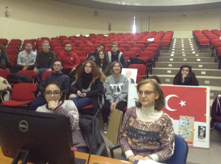 TOUCH questa immagine: Our Skype session with our friends from Turkey by Paola Iorio