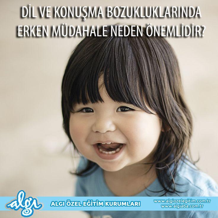 Dil ve konuşma bozukluklarında erken müdahale neden önemlidir?  Dil ve konuşma sorunlarında erken tanı ve tedavi, çocuğun zihinsel gelişiminde çok önemli rol oynar. Soruna müdahale edilmesi zihinsel ve dilsel gelişimin dışında, çocuğun ileride sorun yaşaması olası diğer alanlar olan davranış, duygusal gelişim, öğrenme, okuma ve sosyal alanlardaki gelişimini de olumlu olarak etkilemektedir. #otizm #algı #dilvekonuşma #dil #konuşma