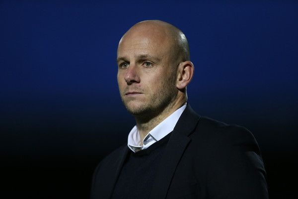Adam Murray Photos Photos - Mansfield Town manager Adam Murray looks on during the Sky Bet League Two match between Northampton Town and Mansfield Town at Sixfields Stadium on November 14, 2015 in Northampton, England. - Northampton Town v Mansfield Town - Sky Bet League Two