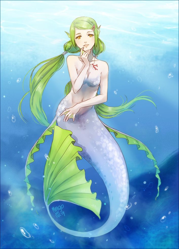 79 Best Images About Anime: Mermaids On Pinterest