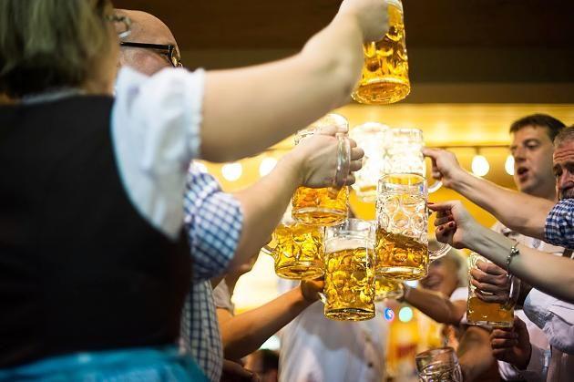 Münchner Oktoberfest 2016: Das Augustiner-Bier ist dieses Jahr am stärksten.