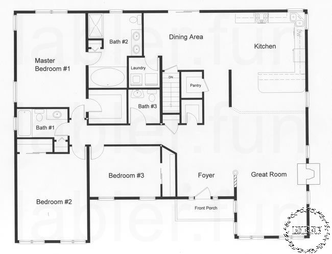 Floor Plan Design For 4 Bedroom House Floor Plans Ranch Floor Plans Ranch House Floor Plans