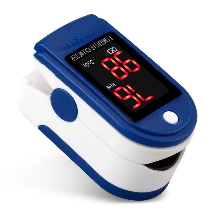 Cuidados De saúde Digital oxímetro De Dedo ponta oxímetro De Pulso De oxigênio no sangue Spo2 Pulsioximetro saturação oxímetro De Dedo Pulso Monitor alishoppbrasil