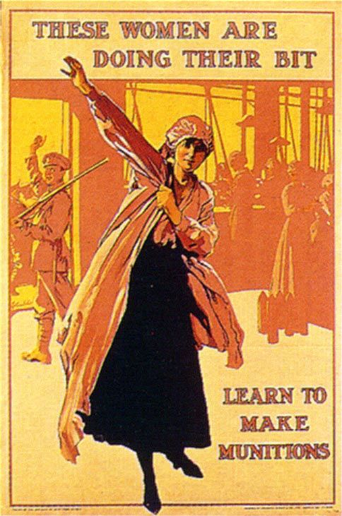 womens roles during ww1 essay Below is an essay on women in world war 1 from anti essays, your source for research papers, essays, and term paper examples prior to the first world war women's role in society in western countries was generally confined to the domestic sphere (but not necessarily their own home) and to certain types of jobs: 'women's work.