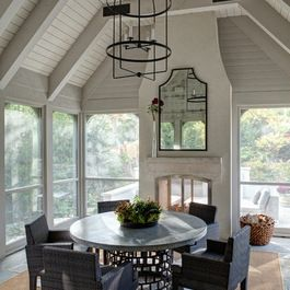 Detached screened porch design ideas pictures remodel for Detached screened porch