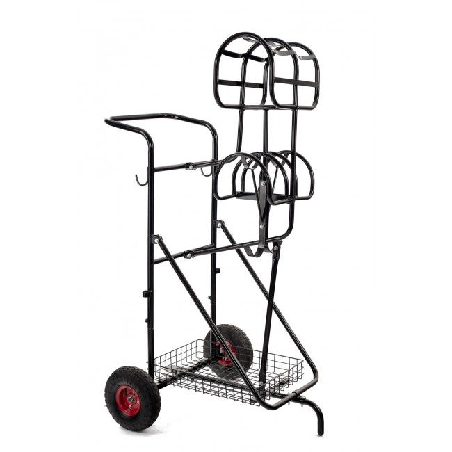 This #harness cart from #Ideal is handy for hanging single- and pair harnesses. Order yours at the biggest webshop for mini horses and shetlanders; #MiniHorseShop!